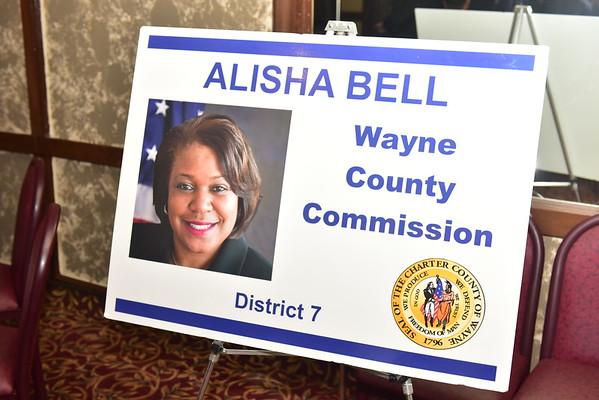 2019 Reception Honoring Alisha Bell, Chair, Wayne County Commission