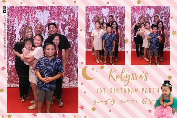 Kelysse's 1st Birthday (Magic Mirror Photobooth)