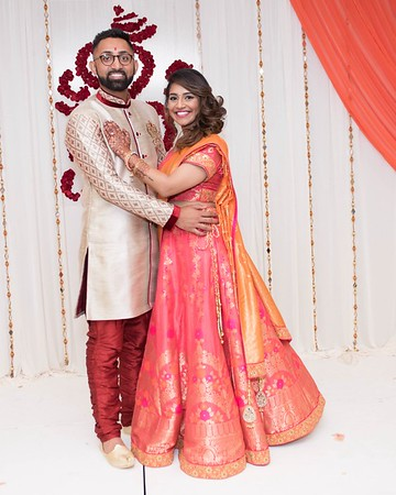 Anish & Bhagyashree 's    The Engagement