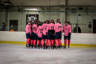 2018 'Pink the Rink' Varsity B Hockey vs CT Chiefs