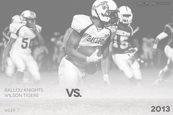 Ballou Knights vs Wilson Tigers 2013