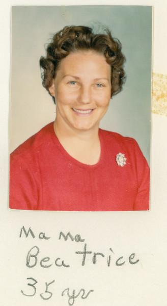 Mama Beatrice 35 years