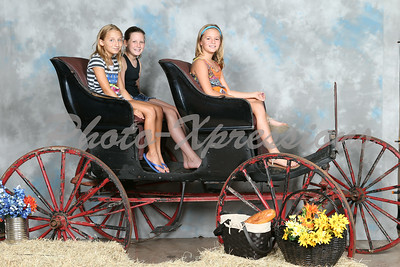 '14 Picnic  portraits/wooden buggy