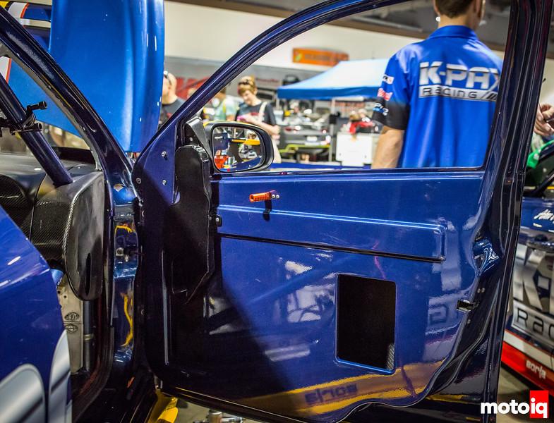 Nerd's Eye View: K-PAX Racing Volvo S60 carbon fiber door