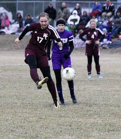 WC girls' soccer at MOC-Floyd Valley 4-1-19