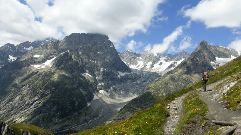 Tour du Mont Blanc - Les Houches to La Fouly (Jul 31-Aug 4, 2014)