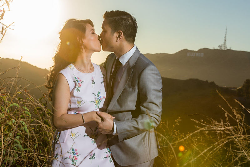 Griffith Observatory Engagement | Amy & Edward