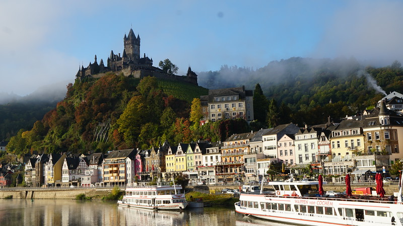 Oct. 6th - Cruising the Mosel River Valley