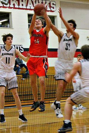 Dodgeville @ River Valley Boys Basketball 1-30-20