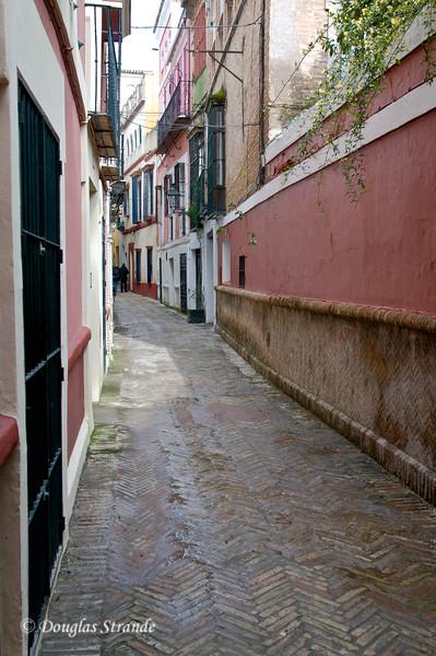 Tue 3/15 in Seville: Narrow street