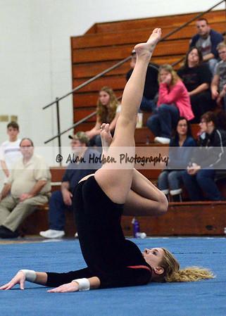 Gymnastics- Jackson NW at Mason - Jackson floor