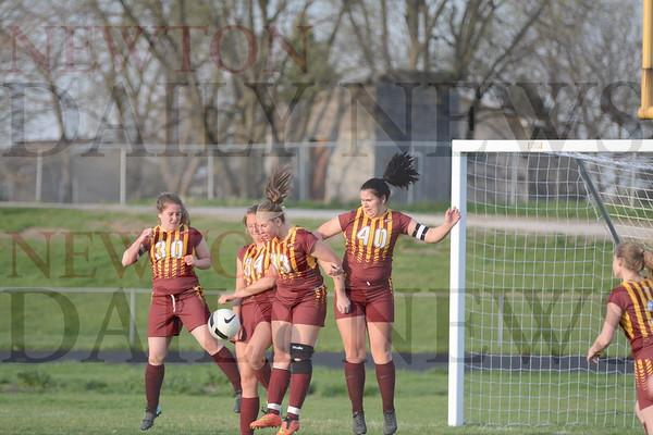 PCM Girls Soccer vs. Chariton 4-23-19