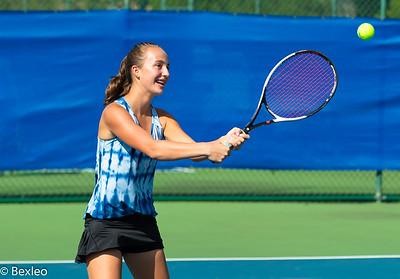 Varsity Tennis Girls vs Worthington Christian