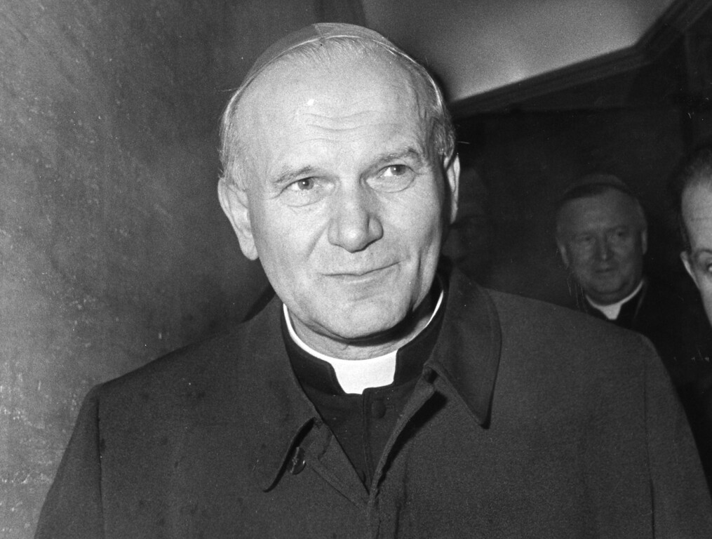 . Karol Cardinal Wojtyla from Poland has been elected Oct. 16, 1978 as the 264th Pope, and is pictured Oct. 3, 1978 in Vatican City, a day before the funeral of late Pope John Paul I. The new Pope has chosen the name Pope John Paul II. (Ap Photo)