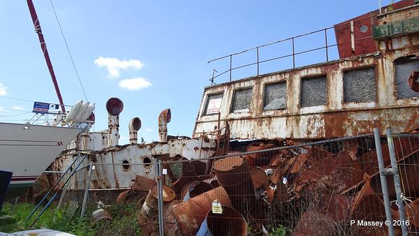 ps RYDE Wreck - Binfield, Isle of Wight