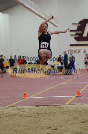 Girl's Long Jump, Gallery 1 - 2013 MITS State Meet