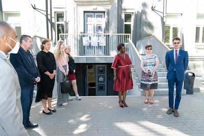 Visite du lycée Gustav Adolf Grammar School - Tallinn