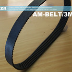 SKU: AM-BELT/3M/426, 426-3M Trapezoidal-Tooth Timing Belt, Closed-loop 3M Pitch Elastomeric Timing Belt 426mm length