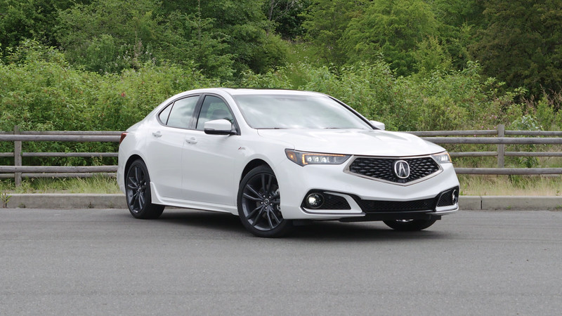 2018 Acura TLX 3.5L A-Spec Parked Reel