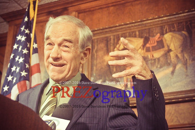 Ron Paul Announces Prez Run