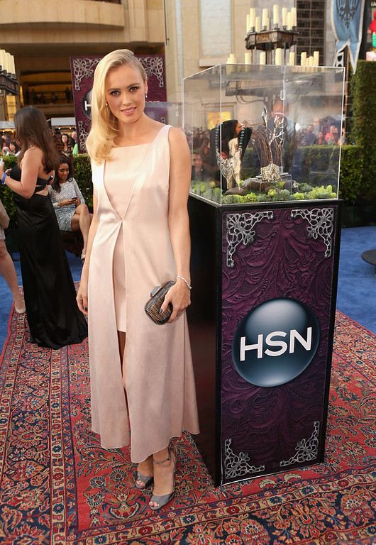 ". Actress  Hannah New attends the World Premiere Party For ""Maleficent\"" sponsored by HSN at the El Capitan Theatre on May 28, 2014 in Hollywood, California.  (Photo by Jesse Grant/Getty Images for HSN)"