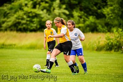 June 5, 2016 - PSC U11 Girls White - Game