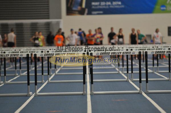 60 Hurdles - 2014 Gazelle Elite Meet at GVSU