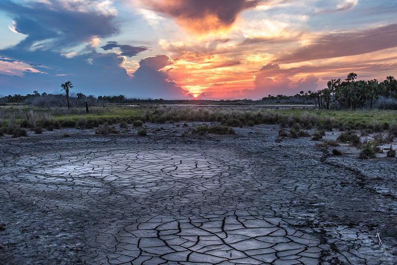 Dry Marsh Sunset 2
