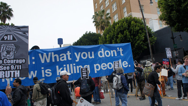Hollywood anti-war rally