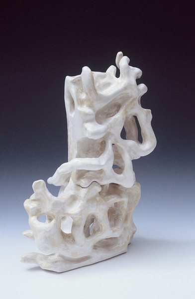"Racheljoy Rodas ""Bone Marrow # 6"" Sculpture in clay"