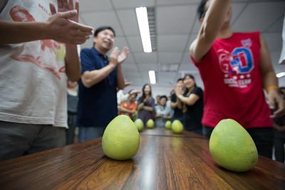 20140903 中秋剝柚子比賽