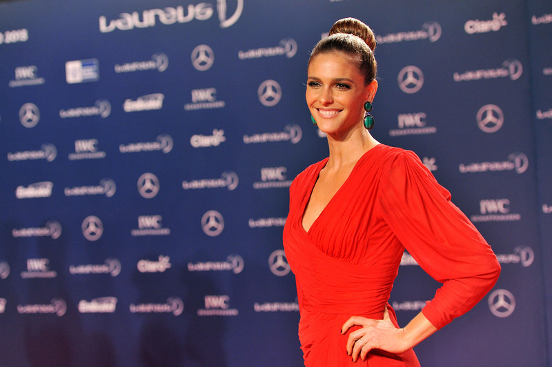 . Actress Fernanda Lima attends the 2013 Laureus World Sports Awards at the Theatro Municipal Do Rio de Janeiro on March 11, 2013 in Rio de Janeiro, Brazil.  (Photo by Buda Mendes/Getty Images For Laureus)