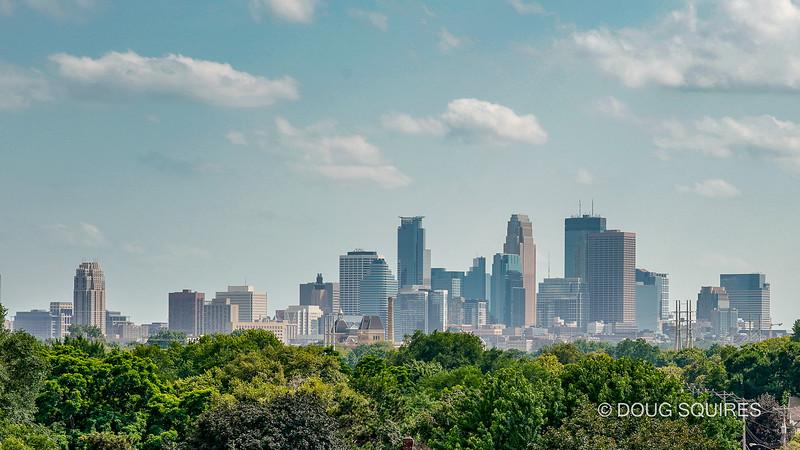 Minneapolis skyline from Betty Danger's ferris wheel