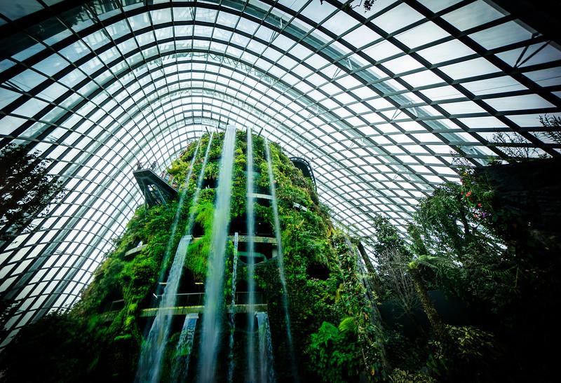 Amazing Indoor Waterfalls