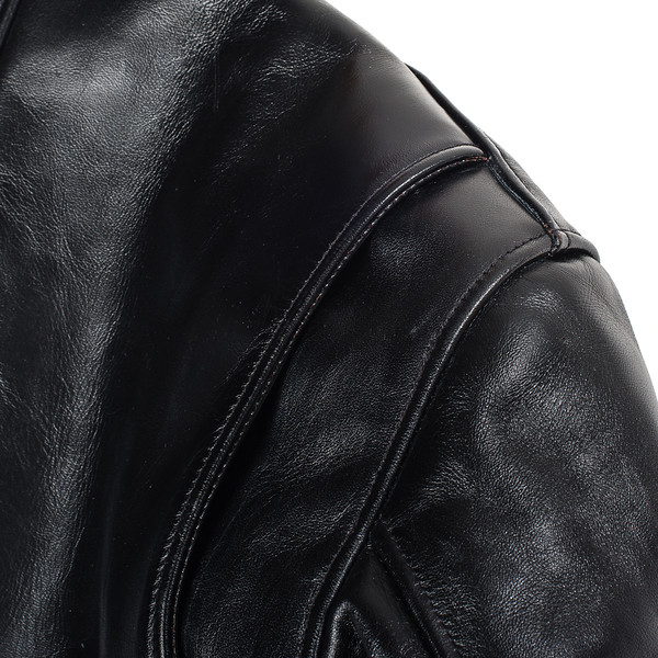 IHJ-35 - Black Japanese Horsehide Rider's Jacket14 copy.jpg