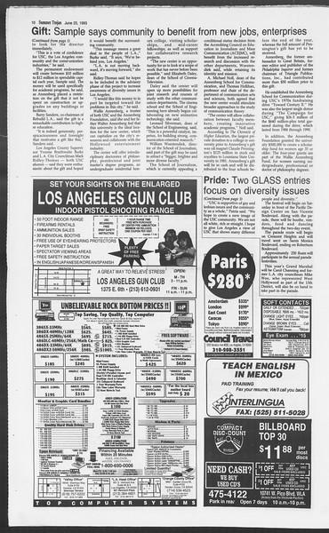Summer Trojan, Vol. 120, No. 7, June 23, 1993