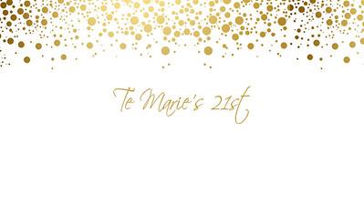 13.08 Te Ma's 21st Birthday