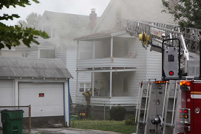 City of Poughkeepsie 317 Mansion Street Fire - July 17, 2012