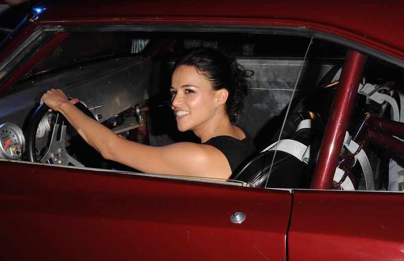 """. Actress Michelle Rodriquez attends the \""""Fast & Furious 6\"""" World Premiere after party at Somerset House on May 7, 2013 in London, England.  (Photo by Stuart C. Wilson/Getty Images for Universal Pictures)"""