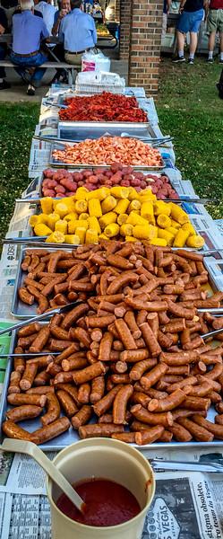 Food served at Frazer
