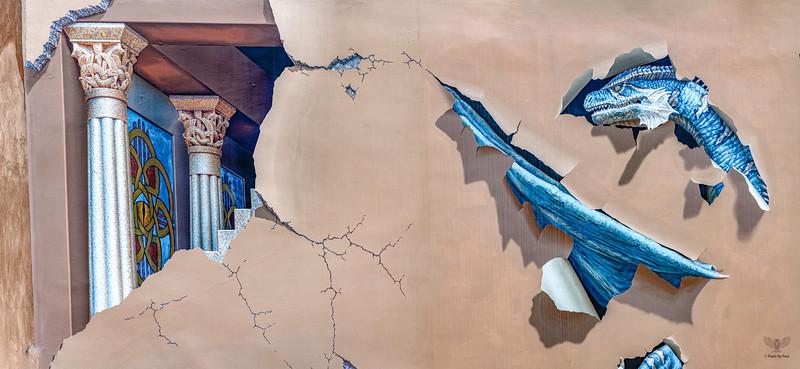 John Pugh Trompe L'oeil Mural