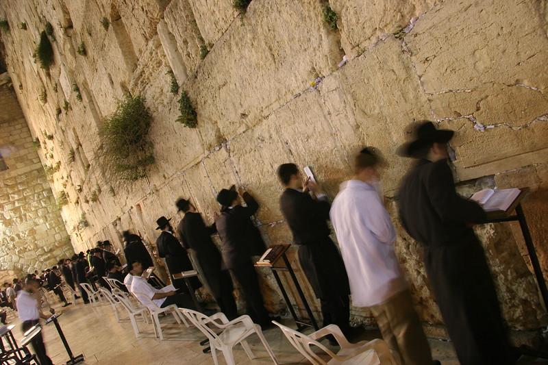 side kotel with people praying at night.JPG