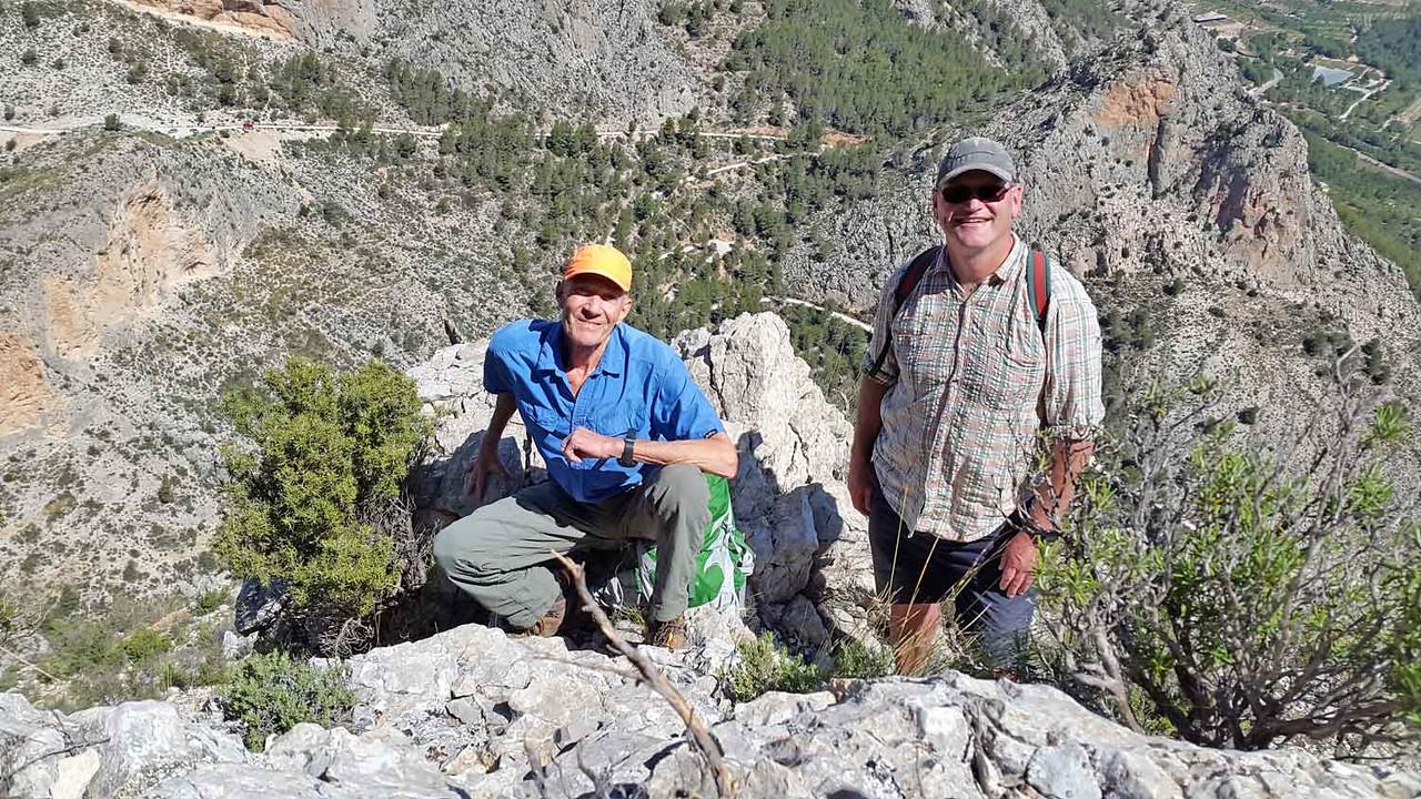 Ponoch North Ridge climb scramble