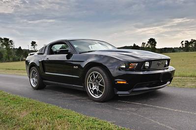 2012 08 03 Ryan & Mustang