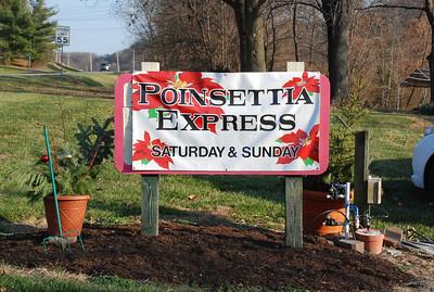 Poinsettia Express at Fahr Greenhouses