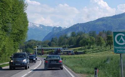 Bergradpfingsten am Wolfgangsee