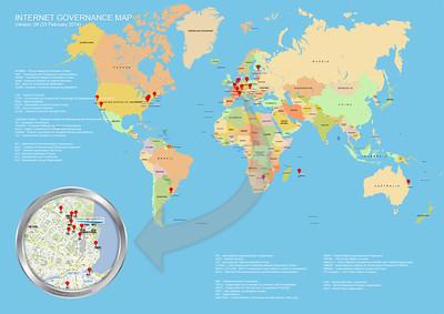 Internet Governance Map