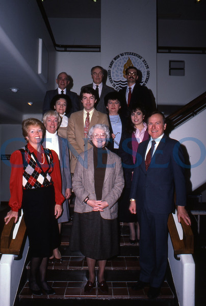 College Council & President Edward Jakubauskas