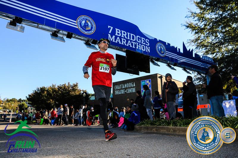 2015 7 Bridges Finishline