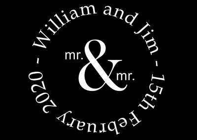 Mirror Booth Hire - William & Jim 15/01/2020